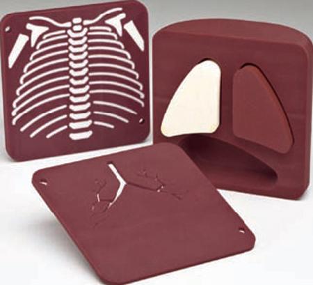 Gammex 610新生儿胸部模体,Gammex 610胸部模体