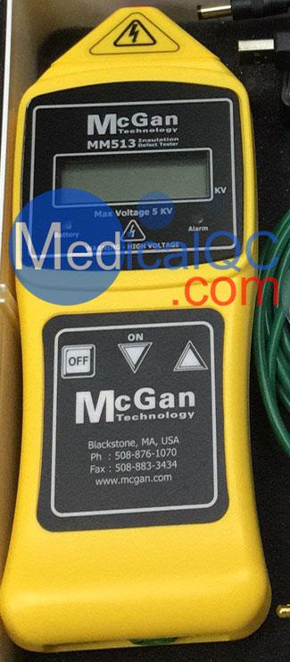 MM513绝缘检测仪,美国McGan MM513医用手持式绝缘检测仪