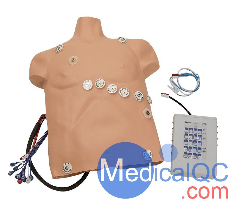 Simulaids带有人体模型12导联心律失常模拟器