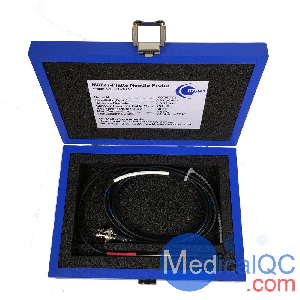 Muller-Platte针式水听器,Muller-Platte水听器